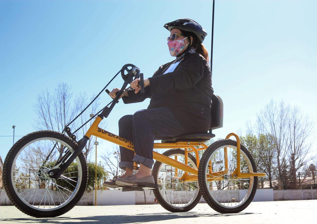 Primeras bicicletas adaptadas en Luján